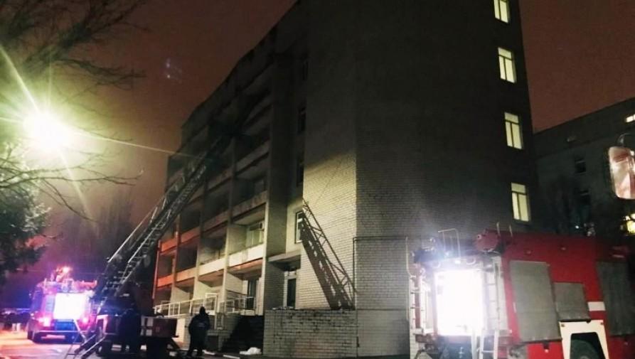 Tűz ütött ki egy Covid-betegeket ellátó ukrajnai kórházban