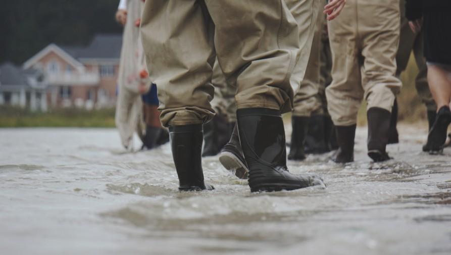 Százezreket telepítettek ki Közép-Kínában a súlyos esőzések okozta áradások miatt