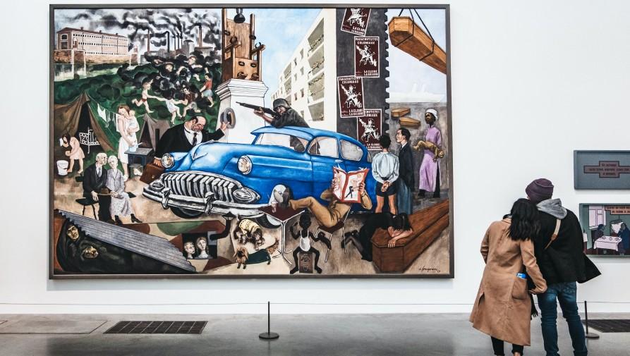 A Tate Modern múzeumban Cézanne képeit és szürrealistákat is kiállítanak jövőre
